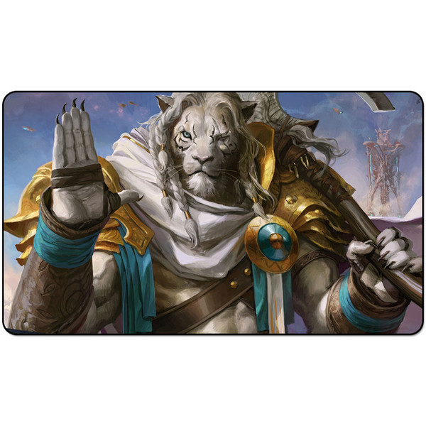Magic Board Game Playmat:OATH OF AJANI 60*35cm size Table Mat Mousepad Play Matwitch fantasy occult dark female wizard2Trial oTE