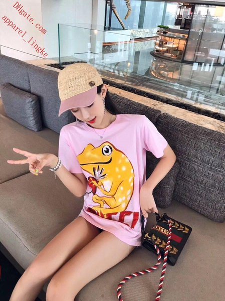 Fashion ladies T-Shirts brand Womens Clothing Short Sleeve Women Clothes Casual T-shirts Printed Loose Short Sleeve O-neck Top tracksuit