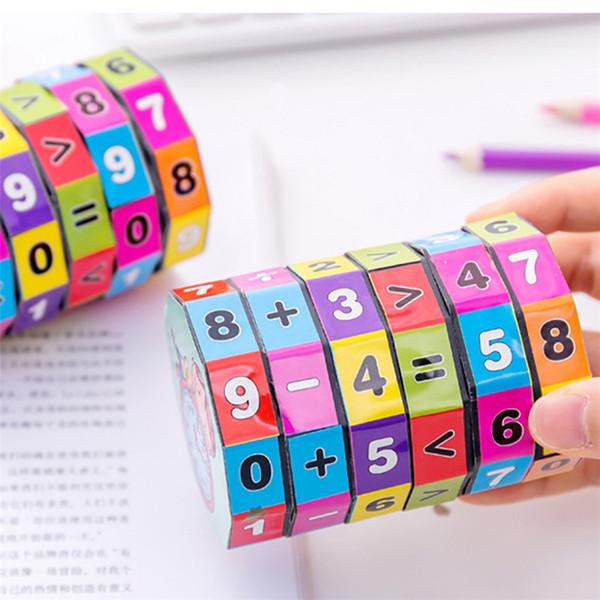 Niños Niños Números de matemáticas Cubo mágico Rompecabezas de diapositivas Rompecabezas Juguetes educativos y de aprendizaje Gadgets divertidos Juegos de rompecabezas Regalos