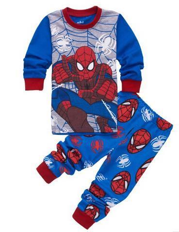 Children Animal Printing Pyjamas Sleepwear Kids Baby Boy Pajamas Pijamas Kids Long Sleeve Baby Girls Panda Cartoon Pajamas
