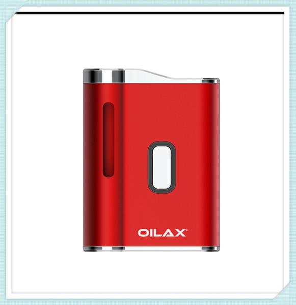 Oilax Cano Vaporizer Kit pour cartouche concentré Taille compacte 450mAh Batterie Mod à court et long 510 Adaptateur fileté