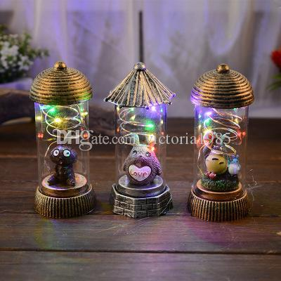 New Cartoon cat/ tower/Flamingo/Cactus Battery Powered light lamp For Christmas Holiday Wedding Decoration Night lighting gifts