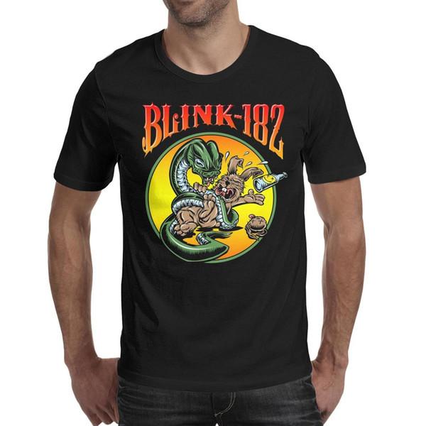 2019 final campeões Blink 182 punk rock Snake coelho blackmens camiseta, camisas, t-shirts, design da camisa de t-shirt design gráfico personalizado
