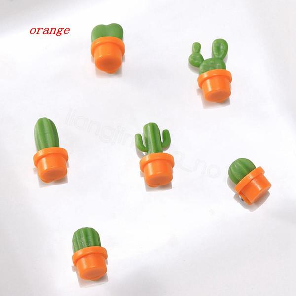 orange, 6pcs = 1lot = 1ET
