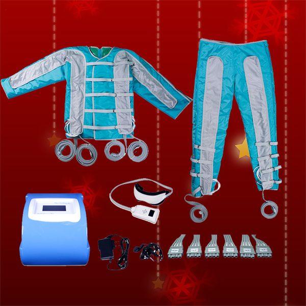 Pressoterapia 2019 Celulite Máquinas de Aperto Infrared Pressotherapy Drenagem Linfática Bom Efeito Detoxify Pressotherapy Machine 24 Bag
