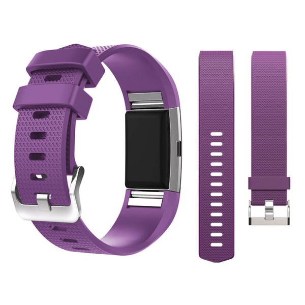 Pulsera de silicona para pulsera para Fitbit Charge 2 correas Reloj inteligente Pulsera de repuesto para Fitbit Charge2 Accesorios