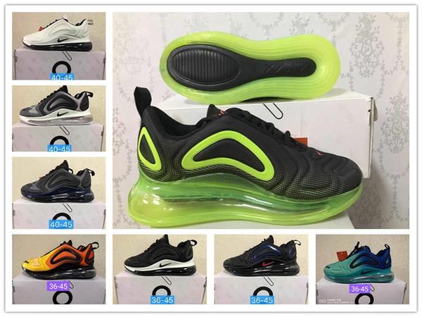 Être vrai Obsidian Volt KPU 720 OG chaussures de course pour hommes, femmes Laser rose Triple noir métallisé Platinum formateurs Hommes Chaussures de sport 36-45