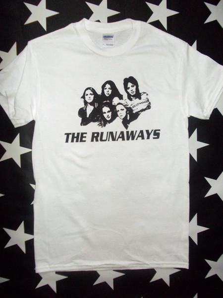 The Runaways glam U.S. punk rock screen printed t-shirt sizes S - 2XL+ Joan Jett