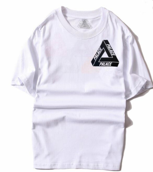 Maglietta di design PALACES maglietta di alta qualità 100% cotone serie classico lusso T-shirt uomo e donna abbigliamento felpa