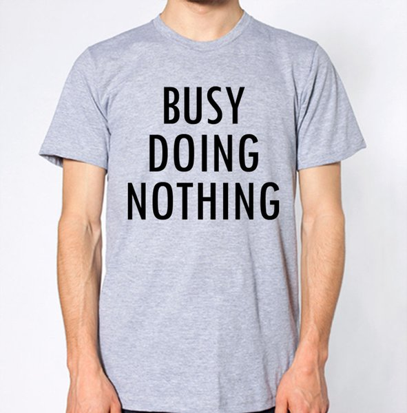 Busy Doing Nothing T-Shirt con cappuccio t-shirt hip-hop giacca in crosta con tshirt in pelle