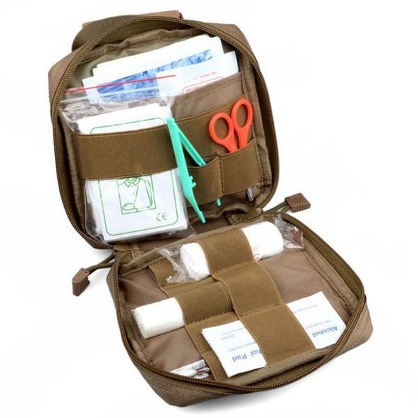 Medical EMT Cover First Aid Kit Survival Bag Tactical Multi Medical Kit Utility Tool Belt Pouch #123234