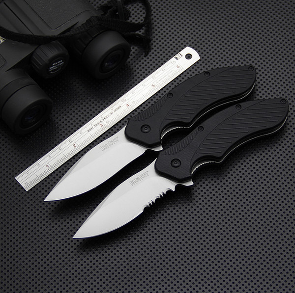 EDC Kershaw 1605 Tactical Folding Knife 8Cr13Mov Utility Pocket Knife Outdoor Tools Survival Knives Self Defense Hunting Tools