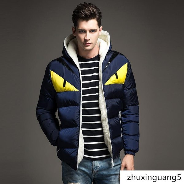 New Men Down Jacket Men 100% Goose Down Thin Section Warm Jacket Cotton Coat