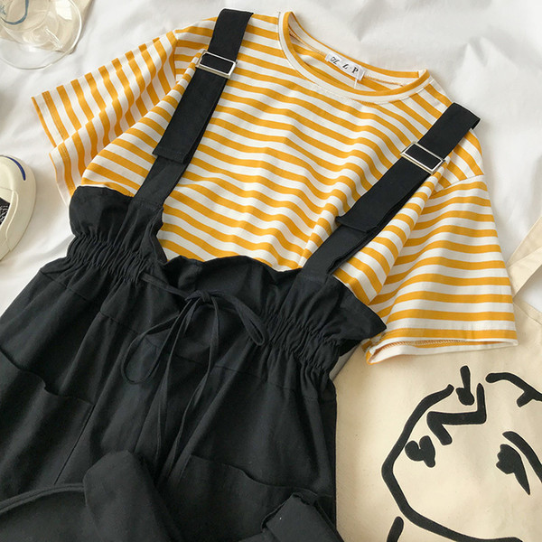 ensemble jaune