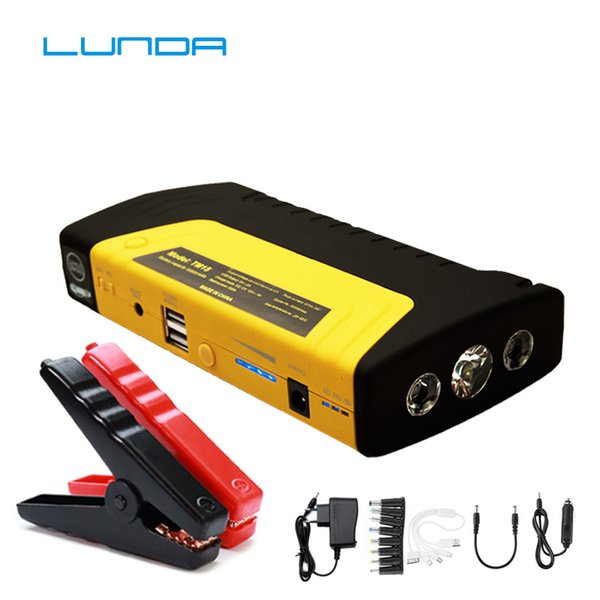LUNDA Best Products Battery Car Jump Starter Portable Mini Starter Booster 12V High Power Bank EPS Emergency Car Charger