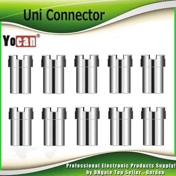 Original Yocan Uni Magnético Conector Adaptador Ímã Anel Para UNI Vape Box Mod Bateria 510 Atomizador Cartuchos 100% Autêntico