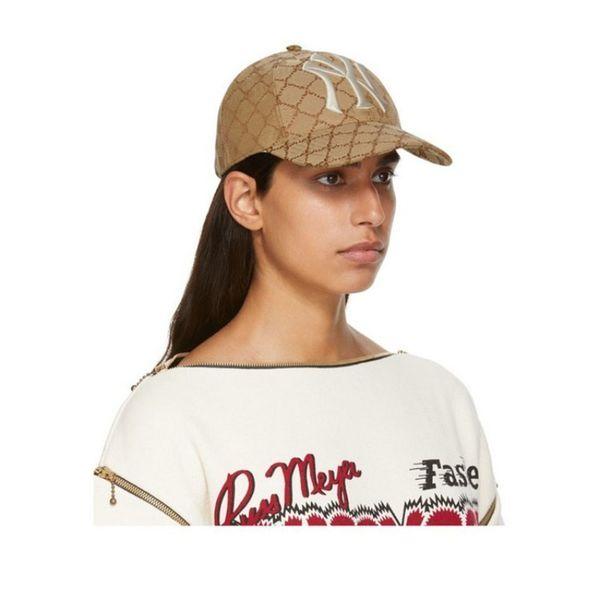 19ss N Y Hat Fashion Logo Italy Embroidery Rainbow Cap Luxury Street Outdoor Travel Fishing Cap Fashion Casual Hat HFTTMZ014