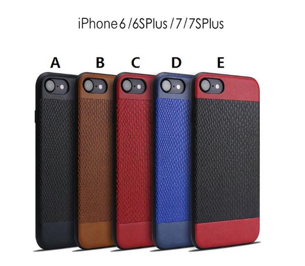 Для iPhone XS XS max XR X 8 7 6samsung Note9 8/S9/S8 / S10 кожаный узор шить чехол для телефона TPU мягкая оболочка полная защита от падения чехол