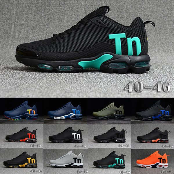 Newest Mens Airs Mercurial Tn Running Shoes Fashion Rainbow Colorfull Men Designer Sneakers Chaussures Hombre Tn Man Sport Trainers Eur40-47