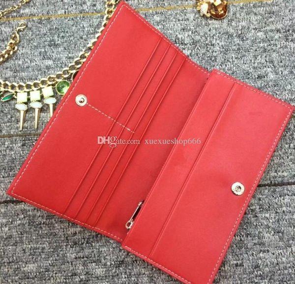 French Men Women Long Wallet Fashion Genuine Leather Clutch Wallets Purse Multi-Card Position Coin Purse Design Lady Wallets Clutch Bag