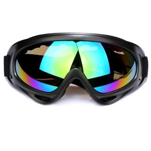 Capacetes Óculos De Esqui Óculos De Sol X400 Anti Fog Esporte Ao Ar Livre À Prova de Poeira Equitação Snowboard Snowboard Mountain