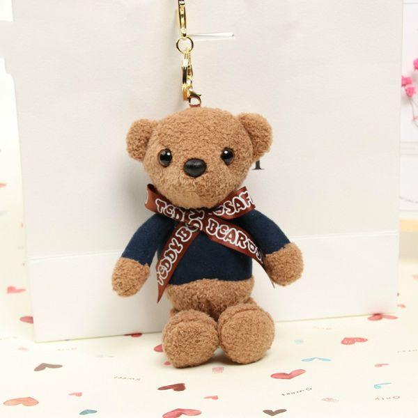 Джиньшан Цвет Ароматные Joint медведь Teddy Bear Плюшевые игрушки Творческий мешок клавиатуры Малый Hanger