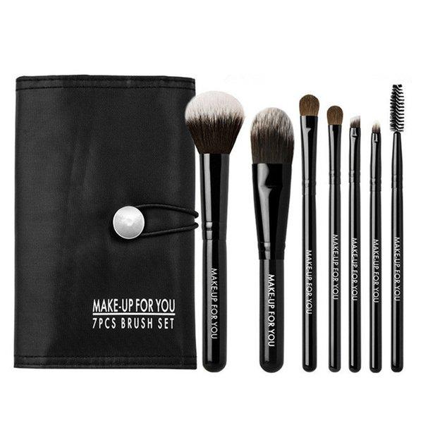 7pcs makeup brush with bag