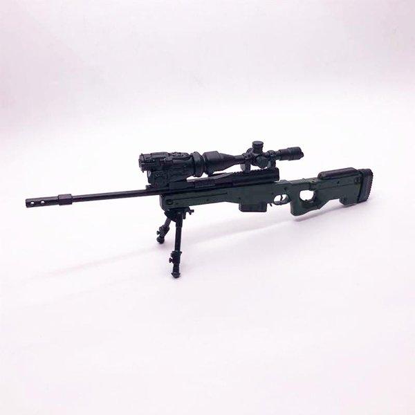 top popular 1:6 AWP Sniper Rifle 4D Assembly Gun Model Toy 2020