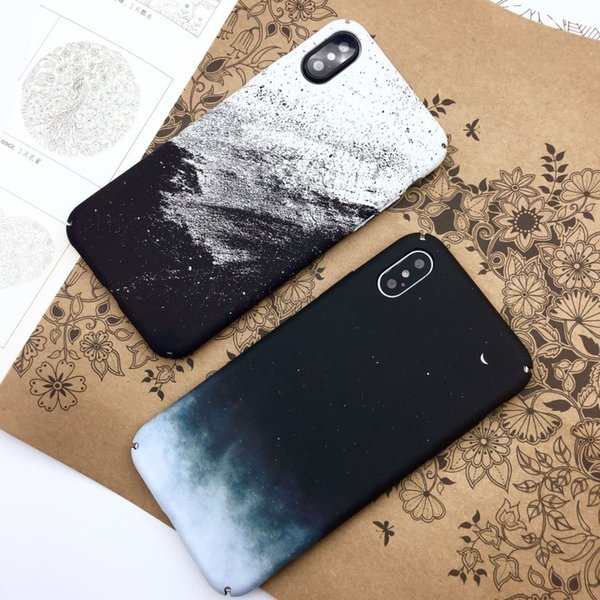 Applicable iphone xs starry sky creative shell iPhonex mobile phone case OPPO protective cover vivo water paste Huawei hard shell