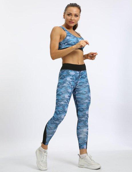 Athletic Activewear Yoga Sets Shirt Top Joga Pants High Waist Leggings Legging Fitness Sport Suit Women Yoga Set Fitness Wear