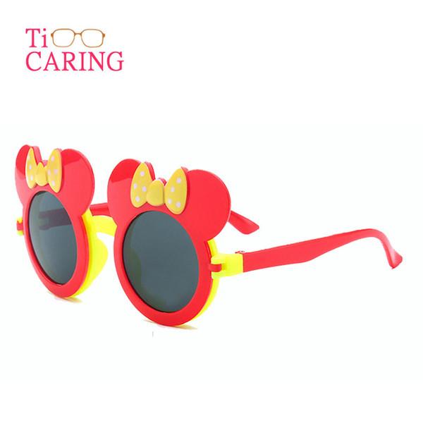 Venta al por mayor de moda de dibujos animados gato niños niñas niños proteger gafas de sol nuevos niños estrella gafas gafas envío gratis 3 unids