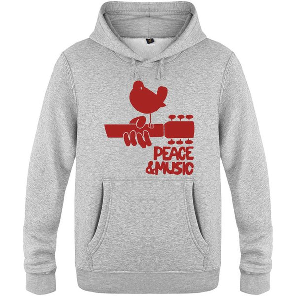 Woodstock sweatshirt hoodie blue men/'s peace and music hoodie sweat shirt