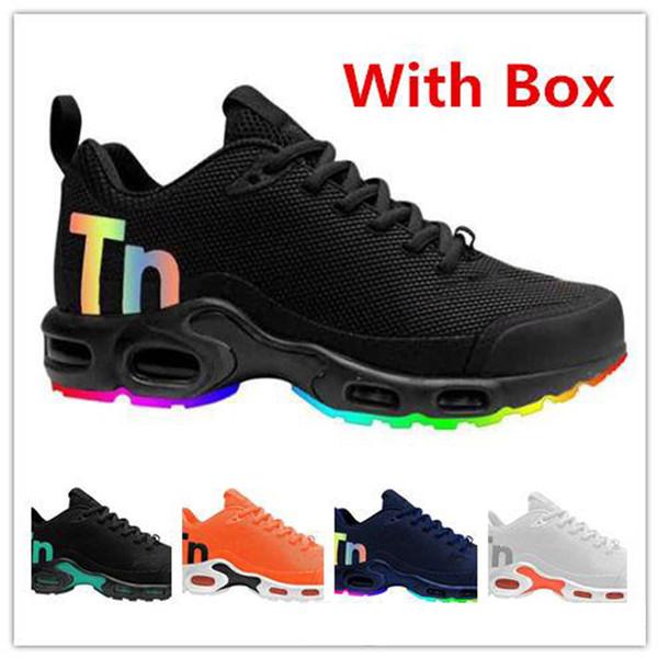 19 Mercurial Tn Plus Мужчины Кроссовки Zapatillas Hombre TN Мужчины Дизайнерская Обувь Мода Мужская Airs Подушка Человек Спортивные Кроссовки Макс размер 40-46
