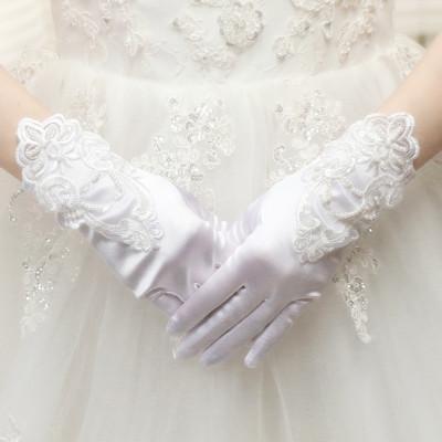 إصبع حبة بيضاء طويلة