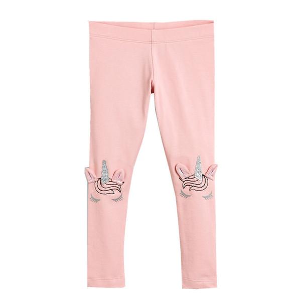 Kleinkind Mädchen Leggings Kinder 100% Baumwolle 2019 Marke Kinder Hosen Mädchen Hosen Tiere Gedruckt Baby Mädchen Kleidung
