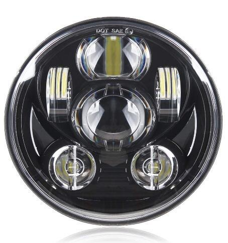 Motosiklet 5-3 / 4 5.75 Harley Davidson 883 için LED Far, sportster, üçlü, düşük binici, geniş kayma Far Projektör Sürüş Işık