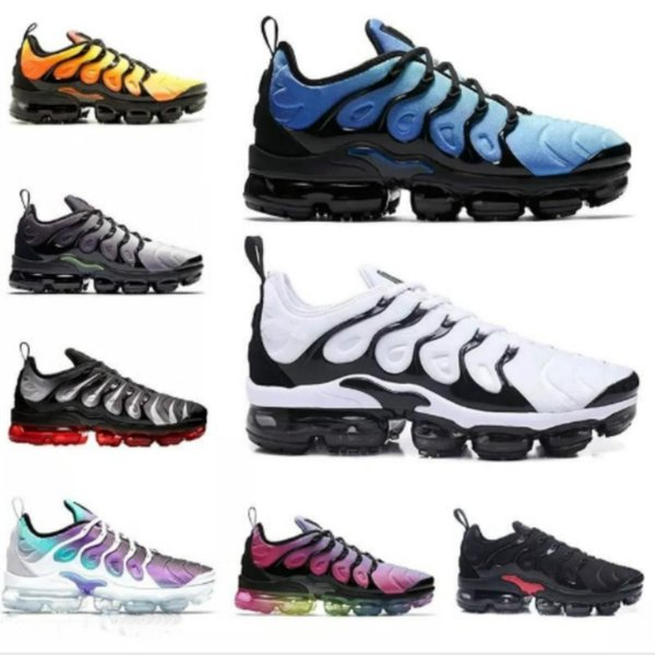 best selling New 2019 brand Men women Sneakers TN Plus Breathable Air Cusion Desinger runner tn Casual shoes New Arrival Color EUR36-45