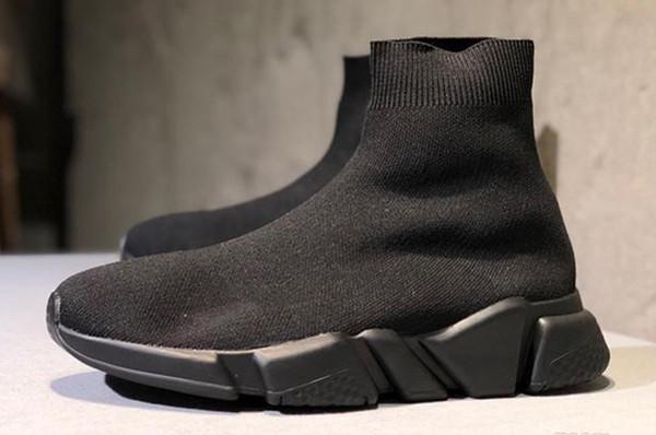 100% di alta qualità vasto assortimento come scegliere Acquista 2019 Paris Triple S Scarpe Casual Stilista Di Marca Calze ...