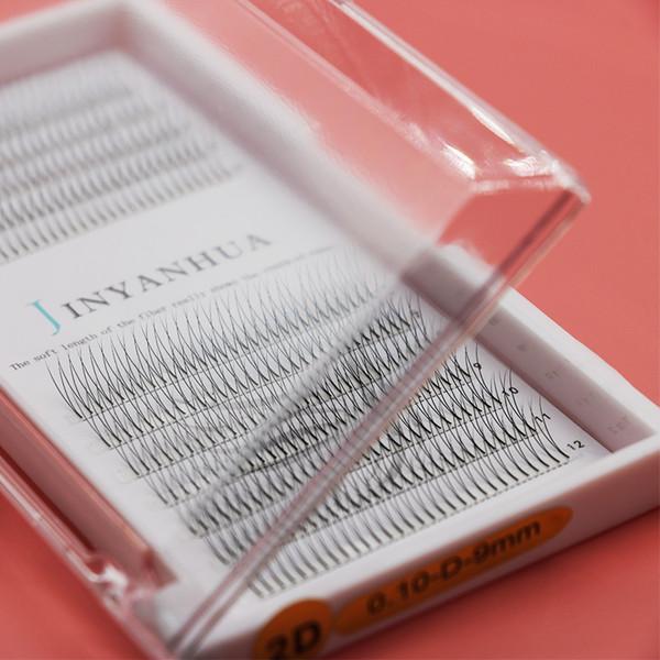 2D накладные ресницы длинные натуральные многоразовые моделирование не несущие мягкие и удобные корейский импорт pring ресницы упаковочная коробка