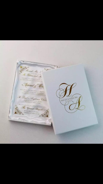 Newest Gold Words Printing Wedding Acrylic Invitation Card Various Flower Design Wedding Cards Box Art Greeting Cards Assorted Greeting Cards From