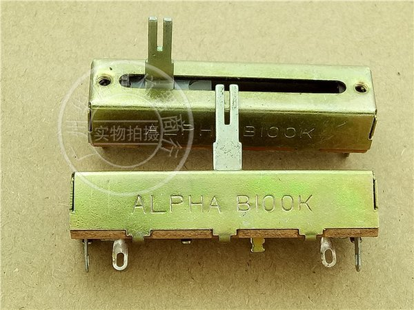 Alpha 5 A Centimeter Directly Sliding Clippers Single Lian Potentiometer B100k Handle Long 15mma