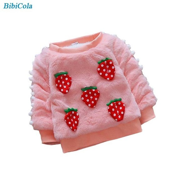 good qulaity Baby Girl Sweater Newborn Boys Autumn Warm Outewear Winter Bebe Sweater Coat Infant Kids Fleece Clothes