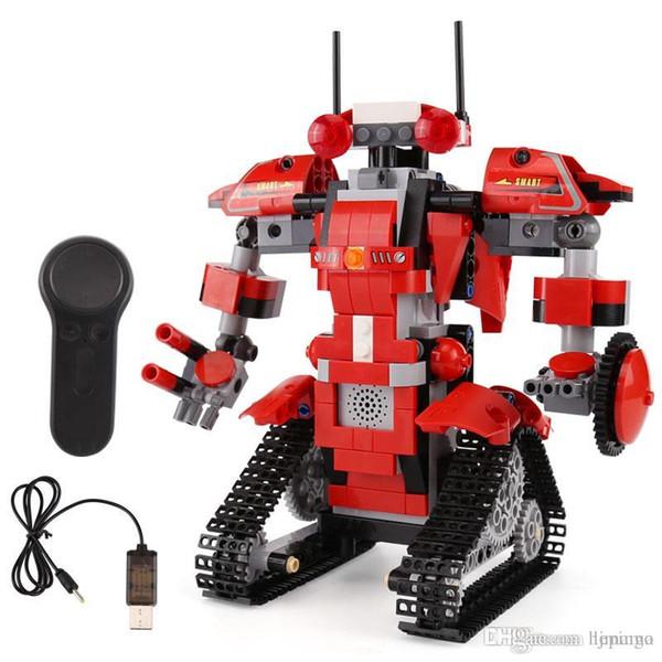 Yeshin 13001 395Pcs The Robert M1 Set legolyes Remote Control Robot Building Blocks Bricks Movable Children Toys Christmas Gifts