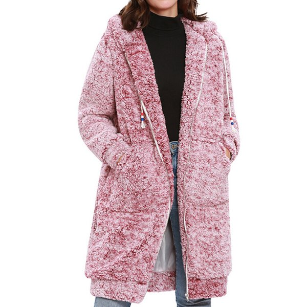 Long Hoodies Sweatshirt Women Harajuku Streetwear Long Coat 2018 Winter Women Fashion Kpop Clothes Kawaii Korean Moletom