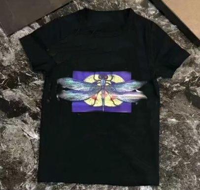 design Hot marque 1-7 ans vieux garçons bébé filles libellule T-shirts r shirt de dessus les enfants de coton T-shirts enfants Vêtements A001