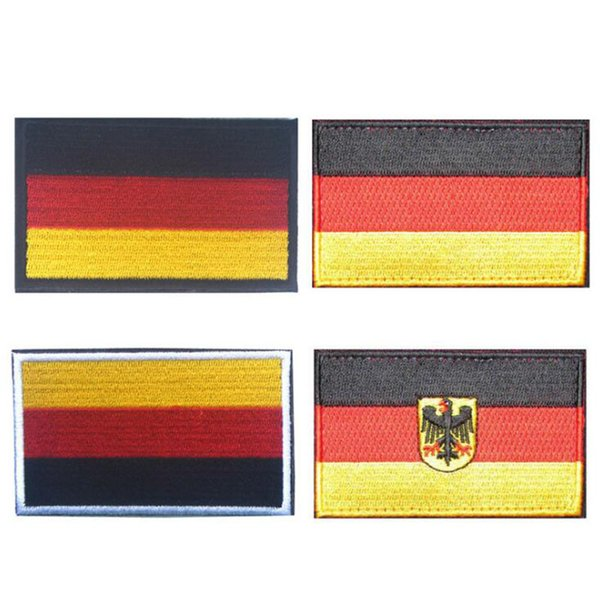 3D Embroidered Armband Germany Flag Military Tactics Patch Military Stripe Bandage Bandage Flag Outdoor Apparel Accessories