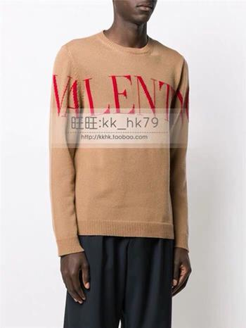Ранняя осень мужские и женские свитера с одинаковыми буквами жаккардовые полоски вышиты перевернутыми буквами известного дизайнера бесплатная рассылка code7