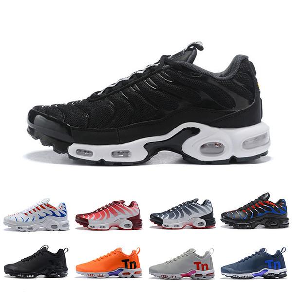 Классический Triple Black Gold Plus TN SE Мужчины Женщины Кроссовки Дышащая сетка Chaussures Homme мужские спортивные кроссовки для дизайнеров Спортивные кроссовки