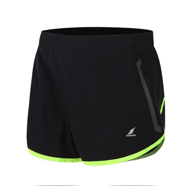 Mens Running Polyester Sports Shorts For Men Loose Gym Trunks Jogging Short Trousers Plus Size Man Marathon Breeches C190420