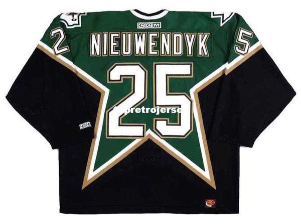 Wholesale Mens JOE NIEUWENDYK Dallas Stars 1999 CCM Away Cheap Retro Hockey Jersey